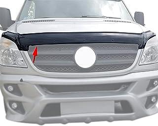 Protetor de capô frontal contra insetos | Compatível com Mercedes Sprinter W906 2007-2013 | Acessórios para protetor de ca...