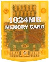 Kafuty 1024MB Carte Mémoire Grande Capacité Accessoire de Jeux Portable pour Nintendo WII Gamecube