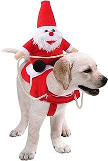 De feuilles Costume Animaux Noël Cosplay Animal Équitation Créatif Compagnie Déguisement Costume pour Chat ou Chien Animau...