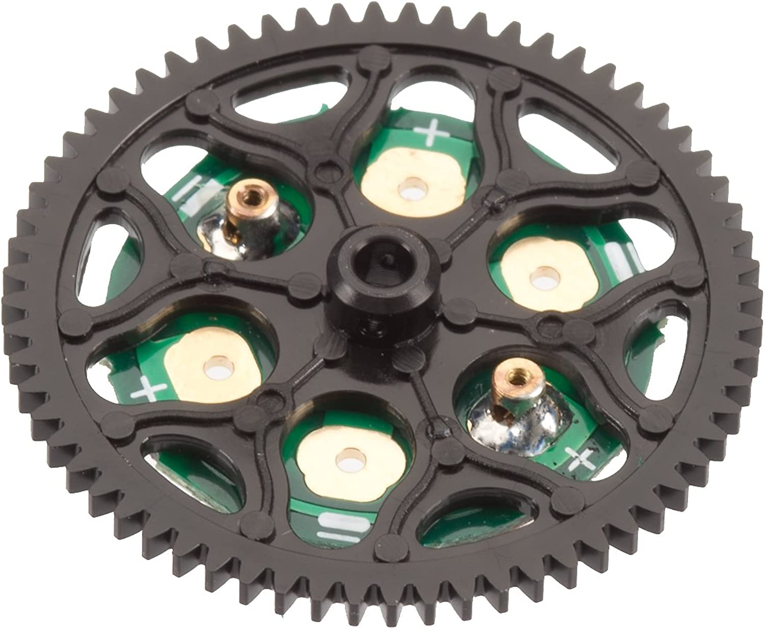 HeliMax Main Gear with with with LED Board for Axe 100 SSL 03d46a