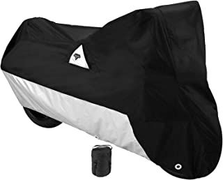 Nelson-Rigg DE-2000-04-XL Black X-Large Defender Motorcycle Cover