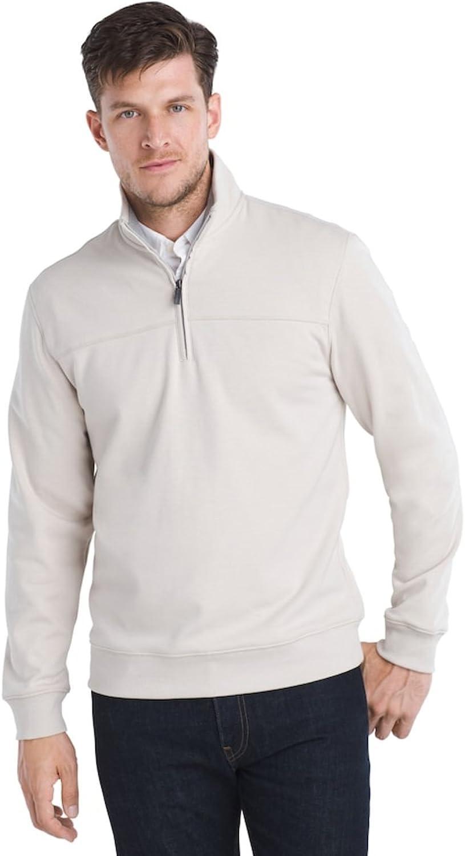Van Heusen Men's Big & Tall Flex Classic-Fit Stretch Fleece Quarter-Zip Pullover