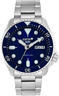 ساعة فيس ليفت 5 من سيكو، مقاومة للماء حتى عمق 10 بار، والتقويم، وبميناء زرقاء، للرجال SRPD51K1.