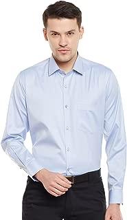 Lamode Men's Solid Btton Down Formal Shirt