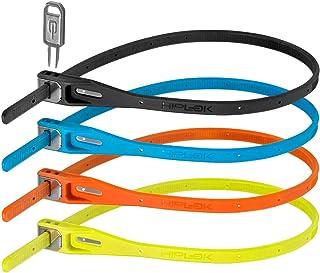 Hiplok Unisex's ZLK4MC Bike Lock, Multi-Coloured, One Size