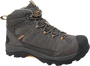 Coleman Men's COLORADO Grey Suede Leather Soft Toe Hiker Shoe. COLORADO-8.5D
