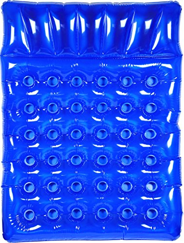 Greenco Giant Inflatable Double Mattress Pool Lounger Float 78 Inches- Blue