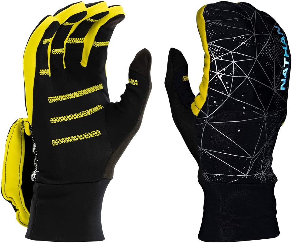 Nathan Convertible online shop Glove Mitt Reflective. for Outdoo Running specialty shop and
