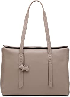 Radley London Belmont House Large Flapover Tote Shoulder Bag in Mink (Taupe)