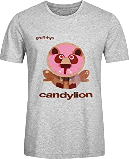Gruff Rhys Candylion Adult Men T Shirts