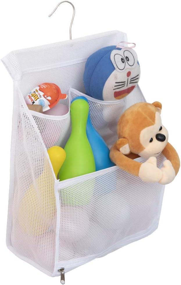 Max 56% OFF ALYER Hanging Mesh Bath Toy Organizer Storage C Large 1 year warranty Bag Shower