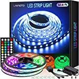 LED Strip Lights 16.4ft x 2 Rolls 5050 RGB Color Changing Lights Waterproof...
