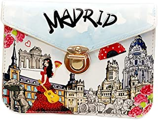 OH Fashion Crossbody Handbag Discovering Madrid