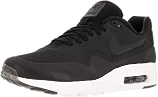 Mens Air Max 1 Ultra Moire Black/White Synthetic Size 12