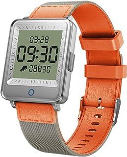 FUN+Smartwatch Rastreador De Actividad De 1.3 Pulgadas Pulsera De Podómetro De Reloj Inteligente A Prueba De Agua, Recordatorio De Llamada De Modo Multideporte, para Hombres Mujeres Niños Android iOS