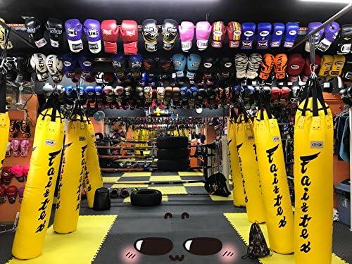 Fairtex Genuine New Yellow Color 6ft K1 Kick Ba Thai shop Boxing Free Shipping Cheap Bargain Gift Muay