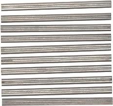 3-1/4 Inch 82mm TCT Planer Blades Knife Portable Hand Wood Razor For DeWalt DW680K D26677K, Bosch PL1632 PL2632K, Makita KP0810 KP0800K, WEN 6530,B&D Craftsman Ryobi Hitachi and most Hand Planer 10pc