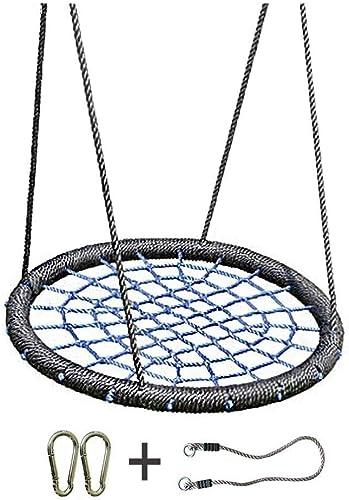¡envío gratis! Xuyuanjiashop Spider Web Bird Nest Cuerda de de de Nylon Segura y Duradera Silla Mecedora Desmontable Hamaca Ajustable Accesorios para Asientos en Interiores y Exteriores ( Color   azul-C )  minorista de fitness