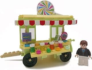 Soniubia City Scape Building Sets Toys Mobile Selling Vehicle(Lollipop Car)
