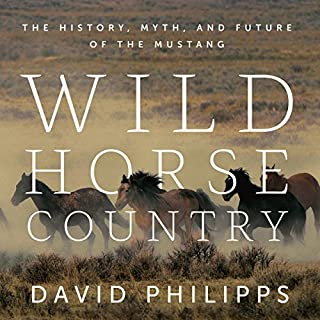 Wild Horse Country audiobook cover art