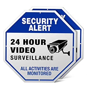 Video Surveillance Signs Outdoor - 12
