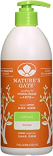 Nature's Gate Colloidal Oatmeal Moisturizing Lotion for Itchy, Dry & Sensitive Skin - 18 oz