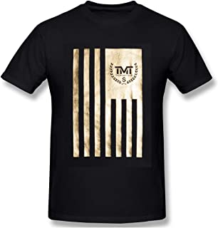 Floyd Mayweather Logo Men's Black T Shirt