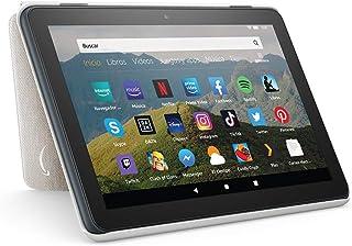 Amazon Funda para tablet Fire HD 8 (compatible con el tablet de 10.ª generación, modelo de 2020), gris claro