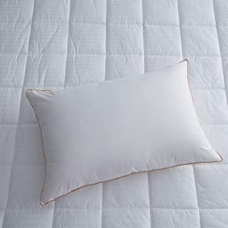 BLUEBERRY CLASSIC BED PILLOW - SOFT COTTON WHITE - 2 PIECE PILLOW