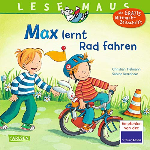 LESEMAUS 20: Max lernt Rad fahren (20)