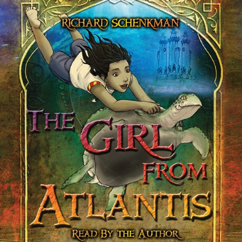 The Girl from Atlantis audiobook cover art