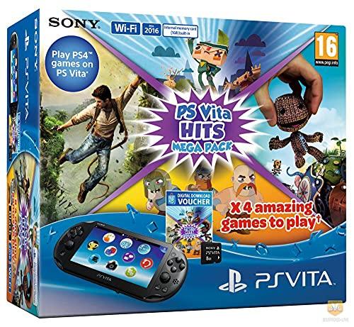 Console Playstation Vita + Hits Mega Pack + Carte Mémoire 8 Go Pour [Importación Francesa]