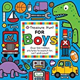 Treasure Hunt for Boys: Over 500 hidden pictures to search for, sort and count!