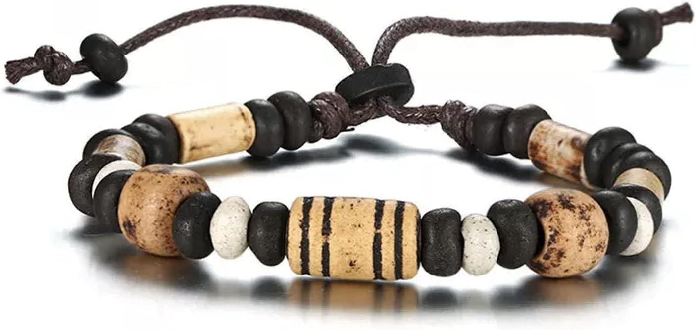 GTHT Men Super intense SALE Bracelets Wood Beads Charm Nylon Woman Lowest price challenge for Bracelet