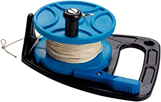 Scuba Max 270 foot Dive Reel Blue with thumb stopper