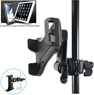 ChargerCity Custom Music/ Microphone Tablet Stand Mount with Multi Swivel Adjustment Holder for New Apple IPAD MINI Google Nexus 7 KINLE Fire BN Nook HD Color Samsung Galaxy Tab 7 7.7 & other 7
