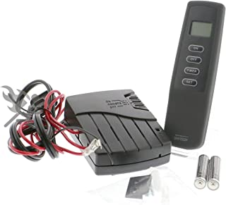 SkyTech 1410T/LCD Timer Control (SKY-1410T-LCD-A) fireplace-remotes-and-thermostats, Black