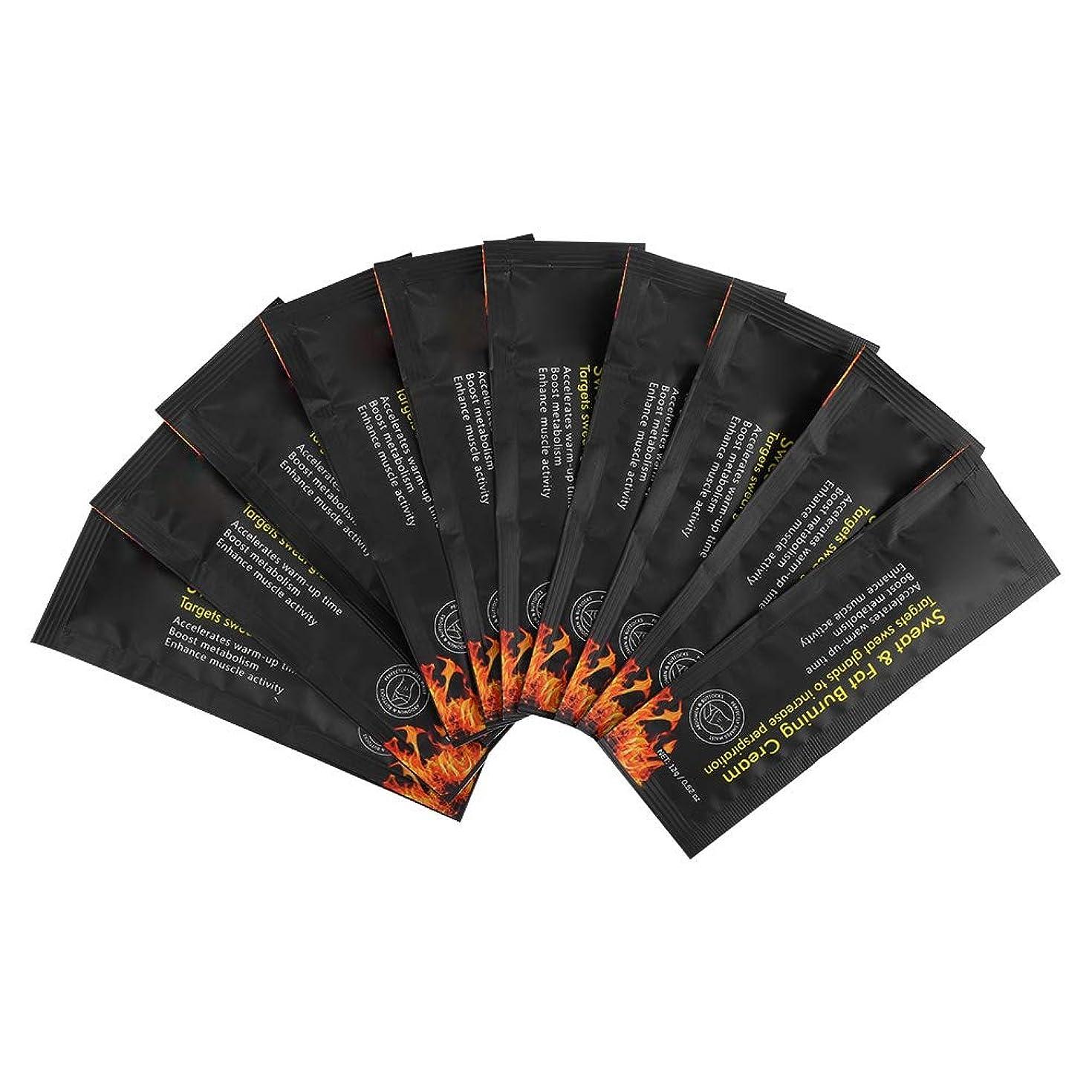 体ミスバッジNitrip スリミングジェル 痩身ジェル 減量クリーム 10袋 脂肪燃焼 男女兼用 無毒 安全