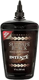 Intenze Professional Tattoo Ink Suluape Black 17 oz