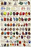 (24 x 36) Introduction to Minerals Educational Poster