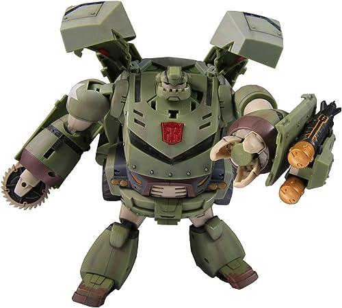 Japanese Transformers Animated - TA43 Iron Hide (Bulkhead) (lumières & Sounds) (japan import)