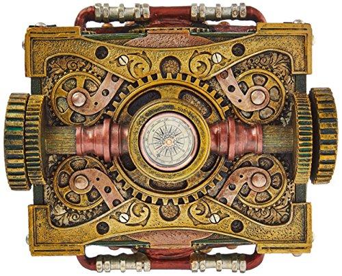 Steampunk Trinket / Jewelry Box Steam Punk W/ Compass 5
