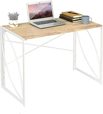 Homy Casa Inc Home Laptop Notebook Computer Desk, White