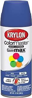 Krylon Colormaster Enamel Spray Paint, Satin Iris, 12 Oz