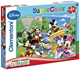 Clementoni 27795.7 Mickey Mouse Club House: Camping budies - Puzzle (104 Piezas)