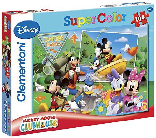 Clementoni 27795.7 Mickey Mouse Club House: Camping budies -
