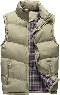 Earnest Men's Puffer Vest Packable Down Lightweight Jacket