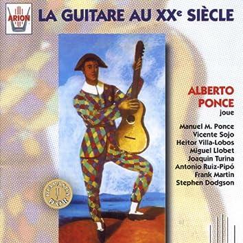 La guitare au XX ème siècle