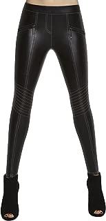 Leggings de sport femme bleu BAS BLACK laguna tailles S M L XL