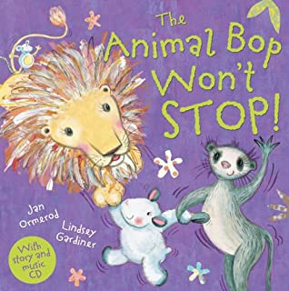 The Animal Bop Won't Stop (Jan Ormerod's Musical CDs and Books)